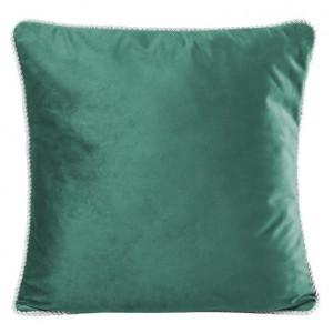 Jednofarebné obliečky na vankúše tmavo zelené