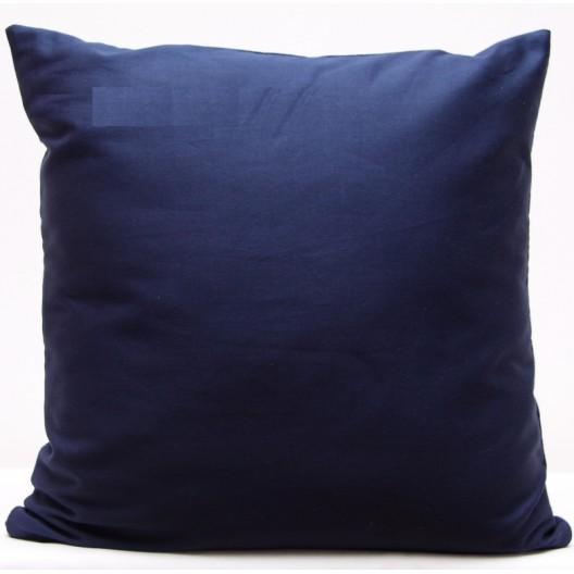 Tmavo modré dekoračné obliečky na vankúše