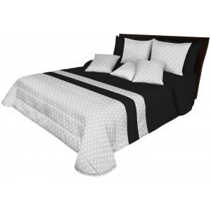 Prehoz na manželskú posteľ s bodkovaným vzorom
