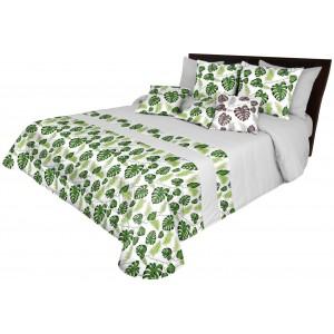 Luxusný prehoz na posteľ s potlačou