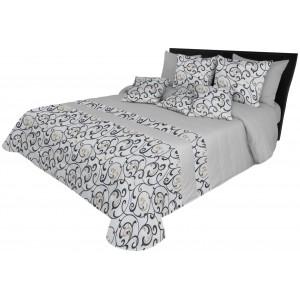 Vzorovaný prehoz na manželskú posteľ