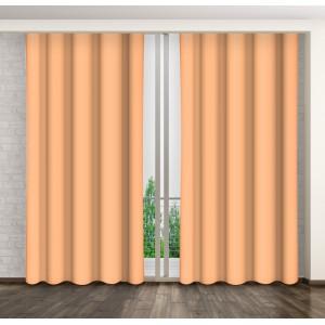 Luxusné jednofarebné závesy do obývačky