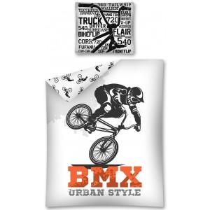 Originálne návliečky pre chlapcov BMX Urban Style