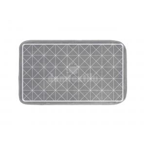 Sivá predložka s geometrickými vzormi