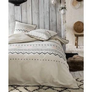 Bavlnené posteľné obliečky so vzorom