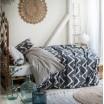 Obojstranné bavlnené posteľné obliečky HIPPIE