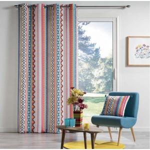 Farebné závesy do obývačky