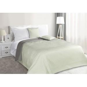 Prešívané obojstranné prehozy na posteľ