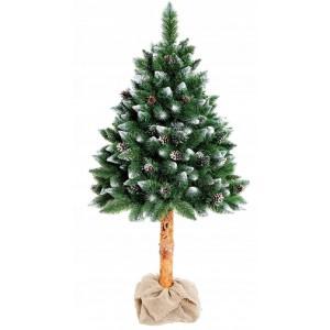 Umelý vianočný stromček s kmeňom 160cm