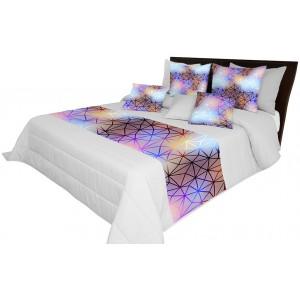 Prehoz na posteľ s farebnou 3d potlačou