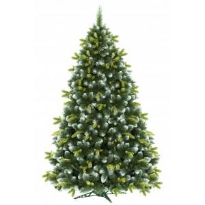 3D vianočný stromček s imitácoiu snehu vysoký 180cm