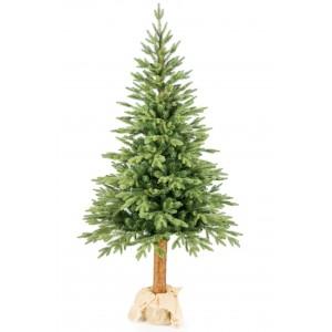 Moderný vianočný stromček s kmeňom 220cm