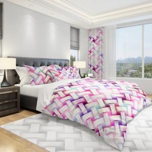 Originálna posteľná obliečka s ružovým vzorom