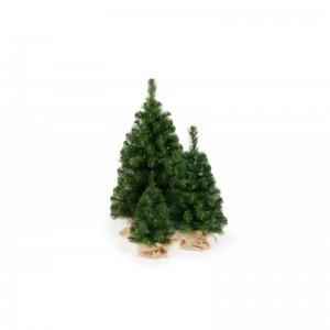 Malý vianočný stromček s plastovým stojanom