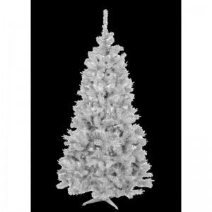 Biely vianočný stromček hustá jedľa