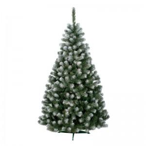 Umelý vianočný stromček jedľa s imitáciou snehu