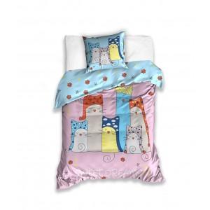 Detská farebná obliečka na posteľ SWEET DREAMS