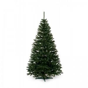 Vianočný stromček jedľa so strednou dĺžkou ihličia