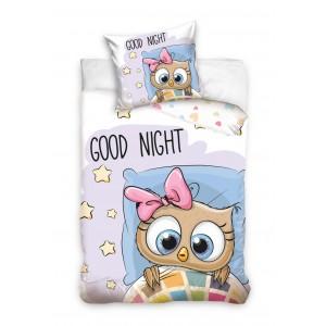 Detské posteľné obliečky v rozmere 160x200 cm GOOD NIGHT