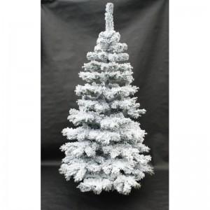 Originálny vianočný stromček zasnežená jedľa