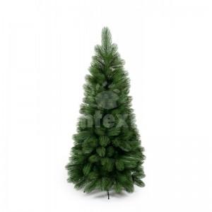 Zelený vianočný stromčke s dlhým ihličím