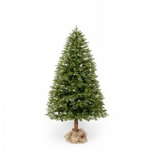 Luxusný vianočný stromček jedľa v svetlo zelenej farbe