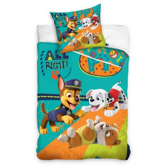 Detské posteľné obliečky s motívom rozprávky PAW PATROL
