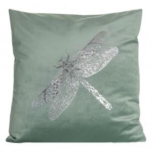 Dekoračná obliečka na vankúš so vzorom vážky