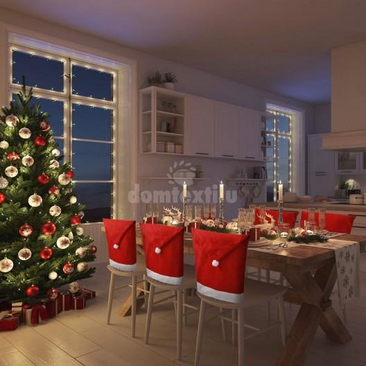 Vianočné návleky na stoličky
