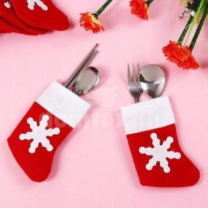 Vianočné čižmičky na príbor