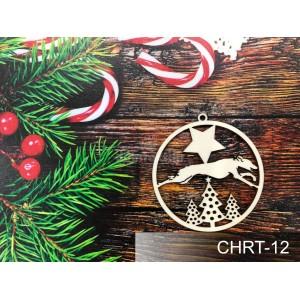 Vianočné ozdoby s chrtom