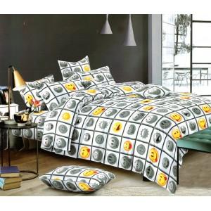 Luxusné posteľné obliečky s motívom smajlíka