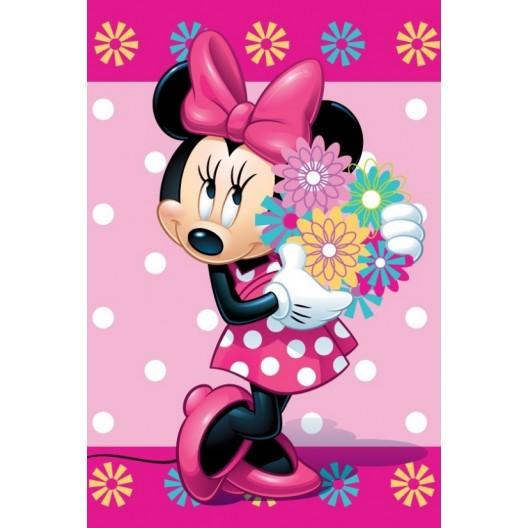 Ružová detská deka Disney MINNIE
