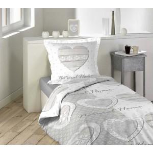 Obliečky na posteľ so srdcom HOMELY