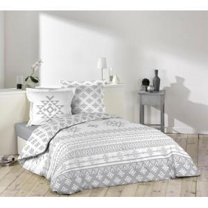 Bavlnené posteľné obliečky s ornamentom CINETIC