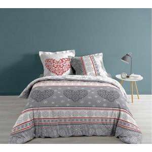 Romantické posteľné obliečky so zimným motívom FLOCOEUR