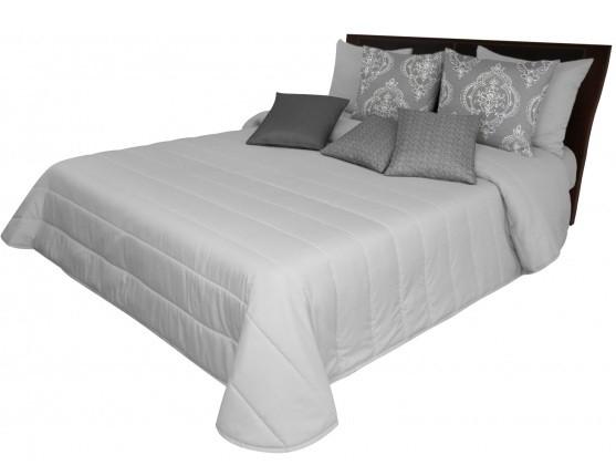 DomTextilu Svetlosivý prehoz cez posteľ Šírka: 75 cm   Dĺžka: 160 cm 12851-102653