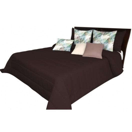 Hnedé posteľné prehozy do spálne