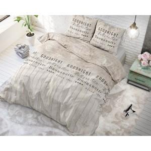 Krásne posteľné obliečky béžovej farby BUONANOTTE