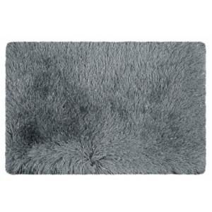 Tmavo sivá rohožka do kúpeľne