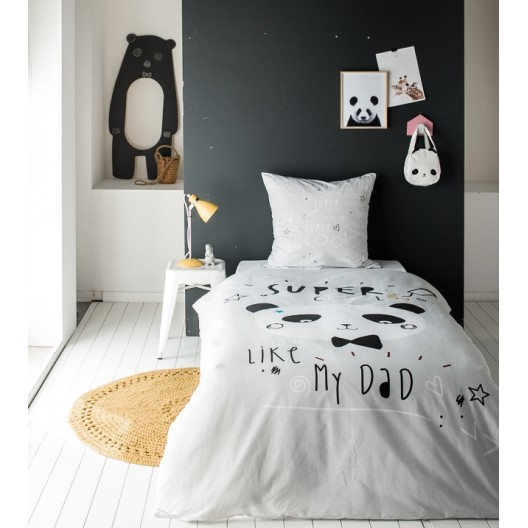 Bavlnené obliečky pre deti COOL PANDA