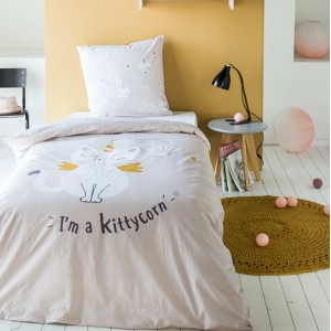 Posteľné obliečky s mačkou KITTYCORN