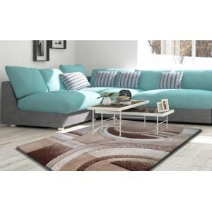Koberce do obývačky v krémovej farbe