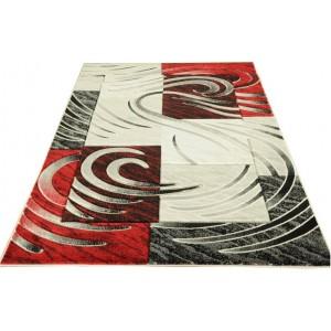 Dizajnový kvalitný koberec do obývacej izby