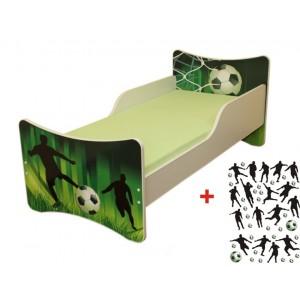Chlapčenské postele s futbalovým motívom