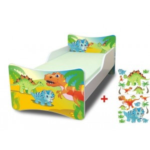 Dinosaury moderné postele pre deti