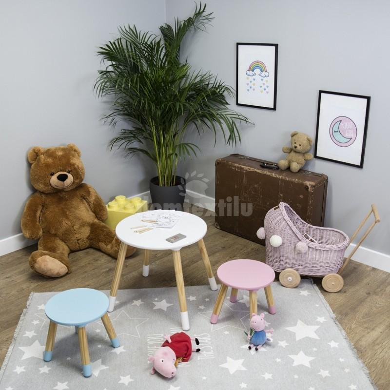 1a2883036a53a Jednoduchý detský stolík so stoličkami
