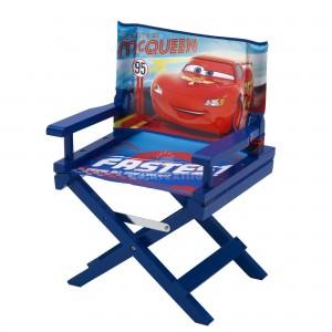 Detská rozkladacia stolička v modrej farbe McQueen