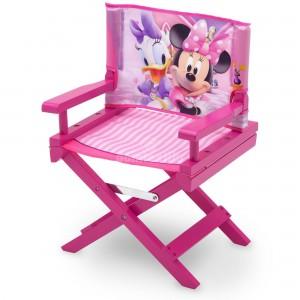 Detská stolička s motívom Minnie Mouse v ružovej farbe
