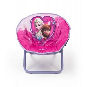 Mäkká detská stolička s motívom rozprávky Frozen